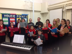 All the Right Notes at St Wilfrid's School Fair 1st December 2012