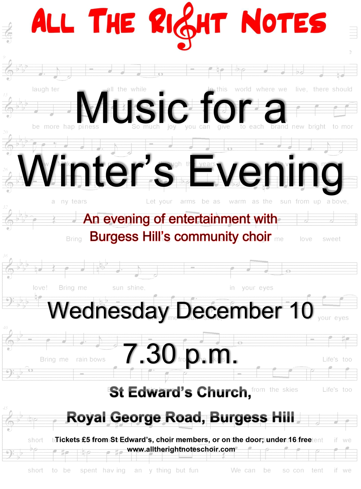 Music For A Winter'sEvening